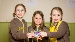 Girlguiding Launches Suffragette Badge To Mark 100 Years Since Women Won Right To