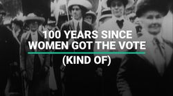 100 Years Since Women Got The Right To Vote (Kind