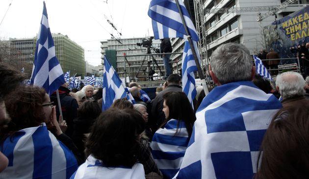 Προβοκάτσια στο συλλαλητήριο της Αθήνας καταγγέλλει διοργανώτρια