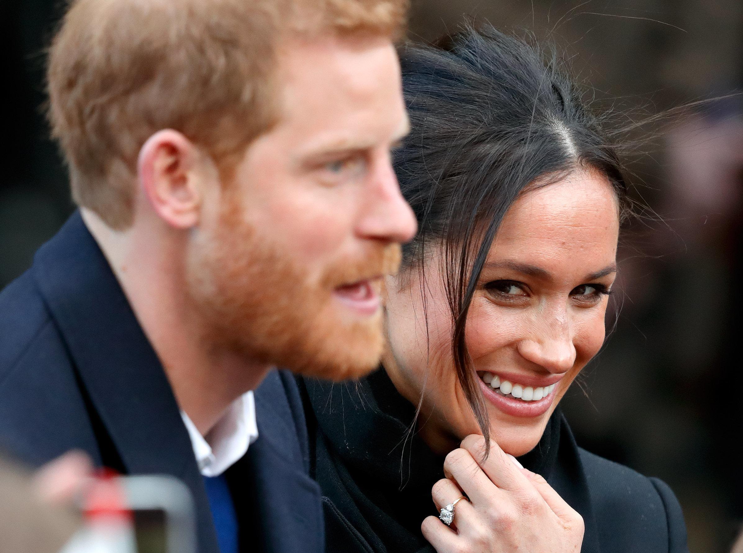 Prinz Harry und Meghan Markle wünschen sich von ihren Gästen nur eins zur Hochzeit