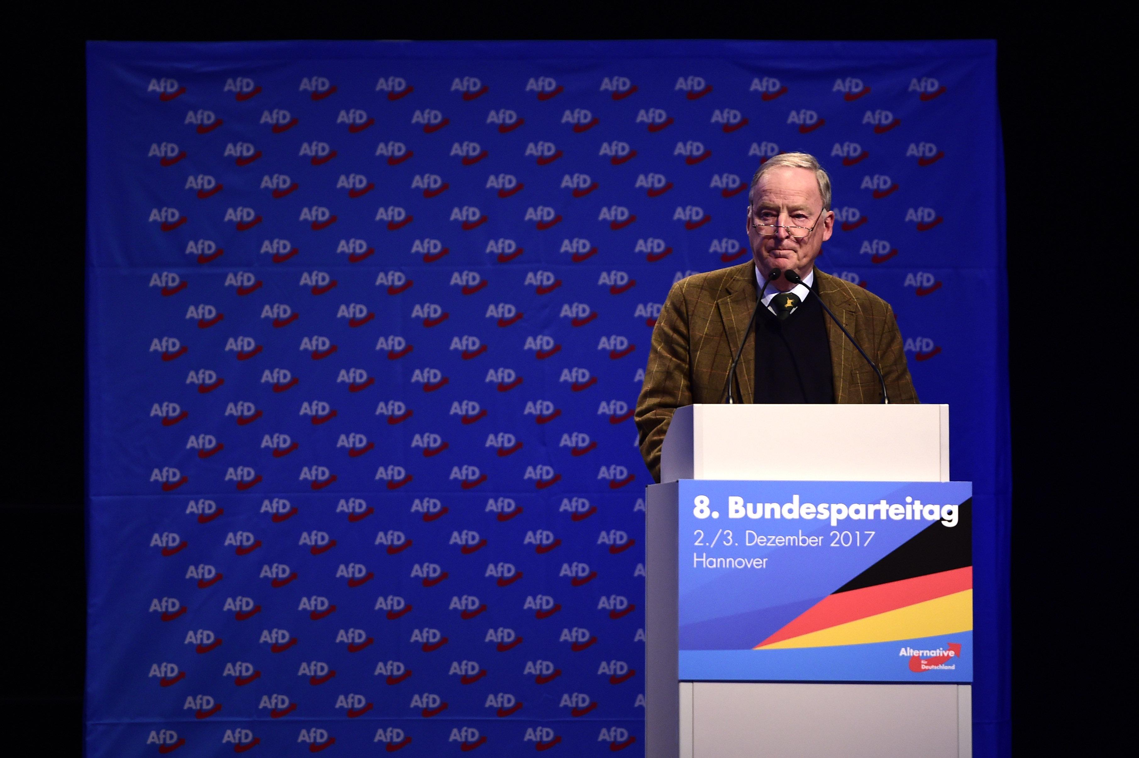 Die AfD wird fünf: Reden der Parteichefs zeigen, wie die Partei immer radikaler wurde