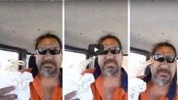Ένας άνδρας σώζει έναν πληγωμένο γλάρο. Ο γλάρος του επιτίθεται και το βίντεο τους γίνεται