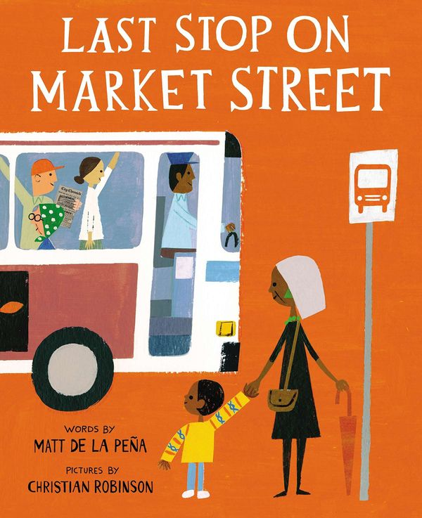 <i>Last Stop on Market Street</i> highlights the relationship between a child and his grandmother, who shows him what he's&nb
