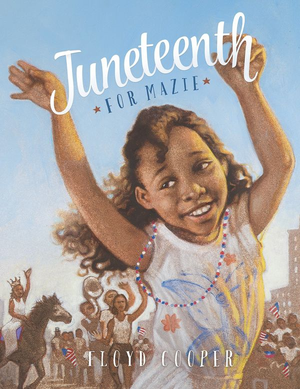 "Kids can accompany the titular character Mazie as she celebrates <a href=""https://www.huffingtonpost.com/entry/juneteenth-pho"