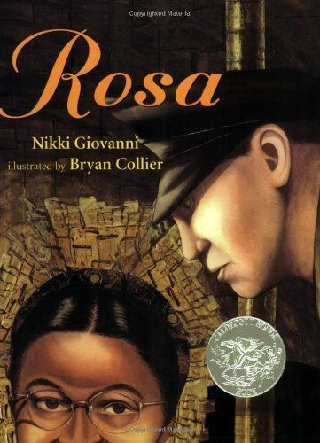 "With this book, kids can learn about <a href=""http://www.rosaparks.org/biography/"" target=""_blank"">Rosa Parks</a>' bravery an"