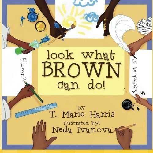 "Called a ""modern black history book,"" <i>Look What Brown Can Do! </i>teaches readers about inspiring contribut"