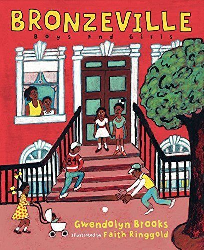 Kids can learn the importance of community by reading Gwendolyn Brooks' poems about Chicago's Bronzeville section. (By Gwendo