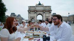 Γαλλία: Οι εορτασμοί «Δείπνα στα λευκά» συνεχίζονται στο