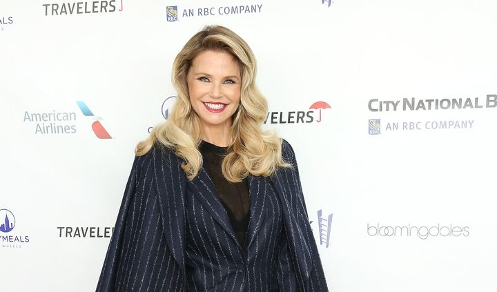 Christie Brinkley at a luncheon on Nov. 16, 2017.