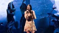 Lana Del Rey Has A Tearful Moment As She Reflects On Foiled Kidnap Plot During Concert