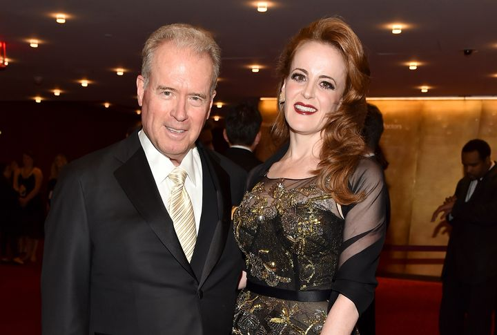 Rebekah Mercer and her father, Robert.