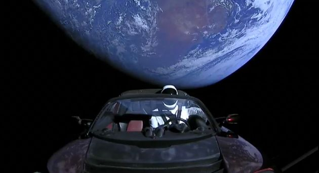 Elon Musk's Car Is Currently Livestreaming Its Journey To