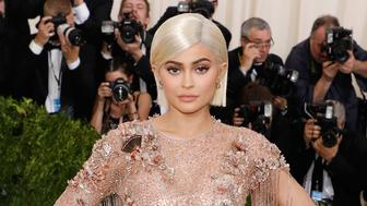 NEW YORK, NY - MAY 01:  Kylie Jenner attends 'Rei Kawakubo/Commes Des Garcons: Art of the In-Between', the 2017 Costume Institute Benefit at Metropolitan Museum of Art on May 1, 2017 in New York City.  (Photo by Taylor Hill/FilmMagic)