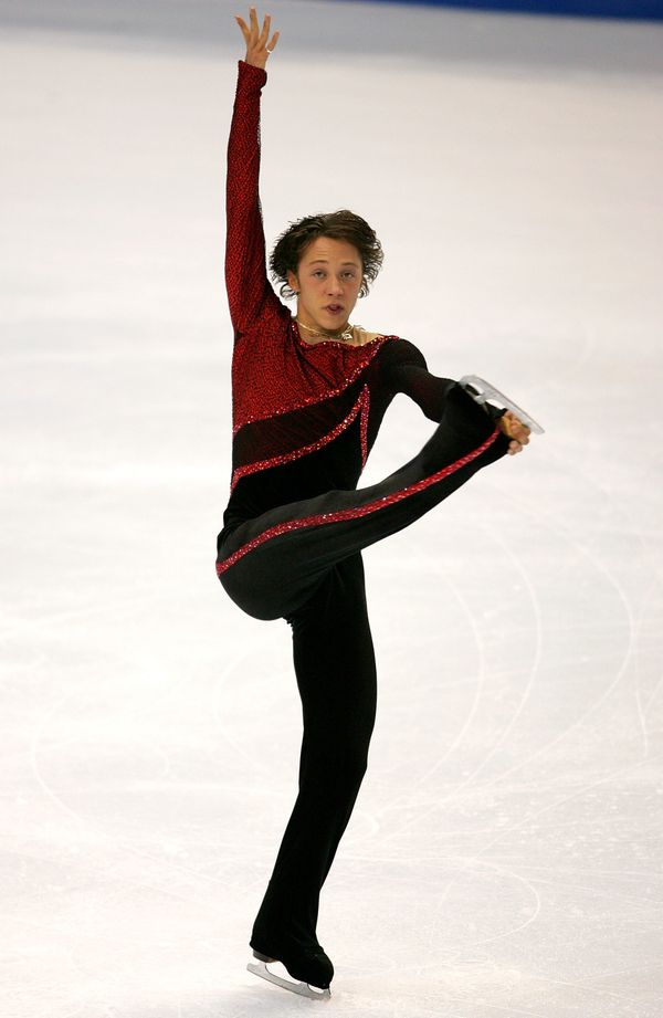 Competing in the men's short program during the State Farm U.S. Figure Skating Championships at the Rose Garden on Jan. 13, 2