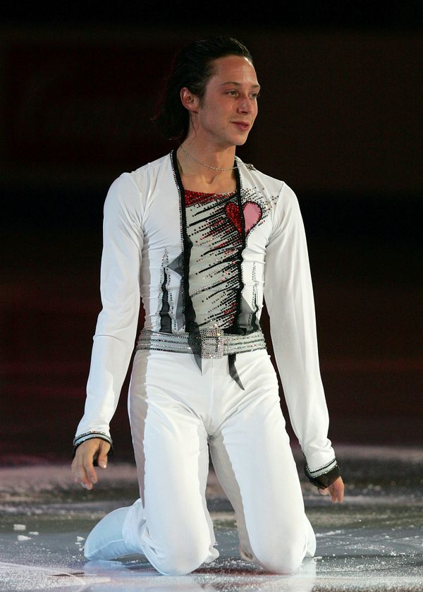 Performing in an exhibition during the State Farm U.S. Figure Skating Championships on Jan. 28, 2007, at Spokane Arena i