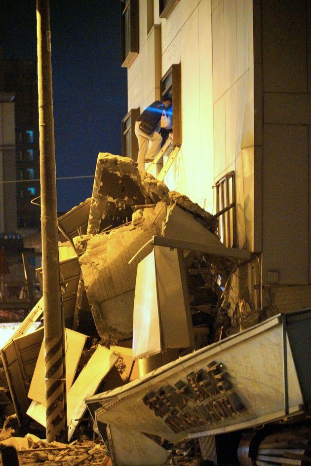 대만 동부서 규모 6.4 지진…2명 사망·100여명