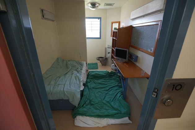 Many cells, like this one at Brisbane women's correctional center, are overcrowded as two or more inmates...