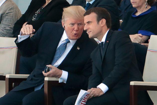 트럼프는 프랑스에서 본 군 열병식이 마음에 들었다. 미국에서도 그걸 하고