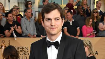 LOS ANGELES, CA - JANUARY 29:  Actor Ashton Kutcher attends The 23rd Annual Screen Actors Guild Awards at The Shrine Auditorium on January 29, 2017 in Los Angeles, California. 26592_008  (Photo by Frazer Harrison/Getty Images)