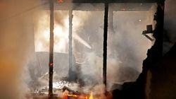 Πέντε βρέφη νεκρά από φωτιές που ξέσπασαν σε βίαιες ταραχές στην κεντρική