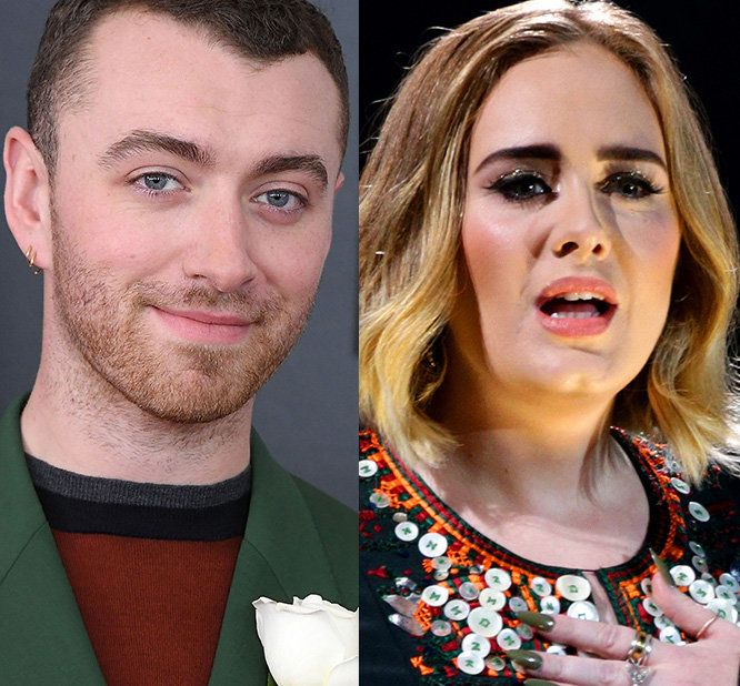 Fans Are Freaking Out Over This Nutty Sam Smith-Adele Conspiracy
