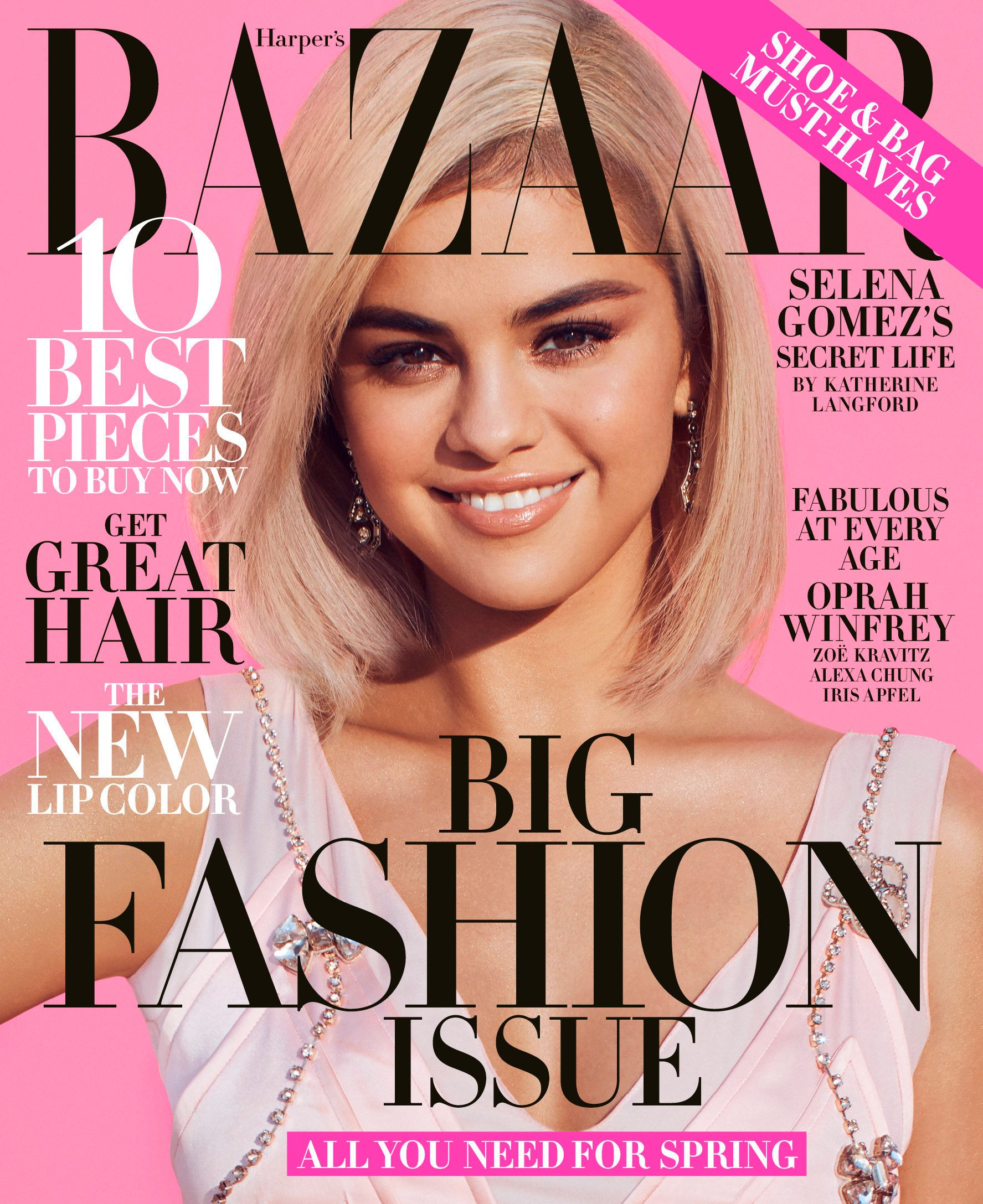 Selena Gomez Poses For 'Harper's Bazaar,' Talks Depression & New Album