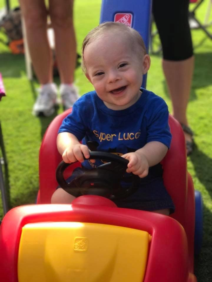 """Lucas' winning smile and joyful expression won our hearts this year,"" said Gerber CEO and President Bill Partyka."