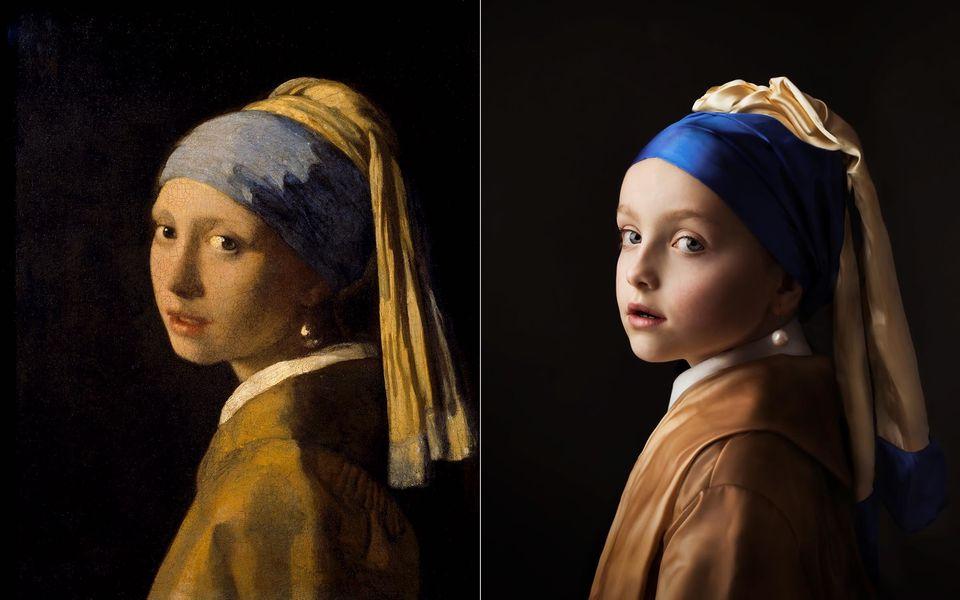 Le travail de cette photographe est un bel hommage à l'âge d'or de la peinture