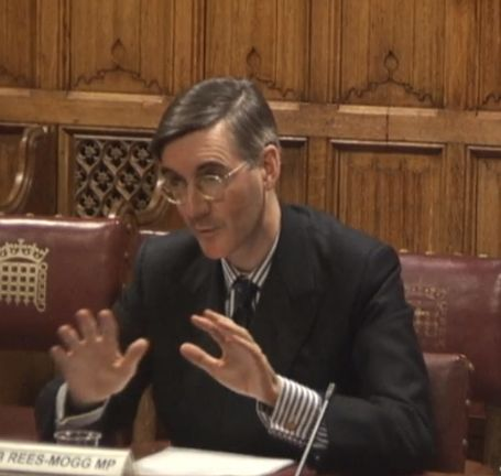 Jacob Rees-Mogg at the human rights