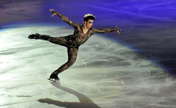 Performing at Artistry On Ice at Capital Indoor Stadium on July 16, 2011, in Beijing.