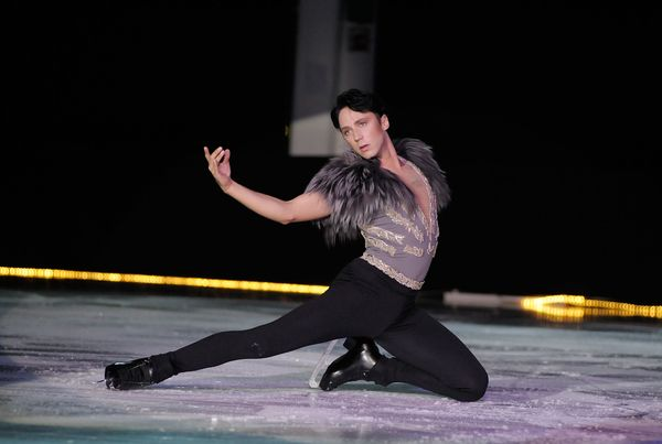 Performing at the Ice Theatre of New York: Dare to Be Different gala at Sky Rink, Chelsea Piers, on Oct. 24, 2011, in Ne