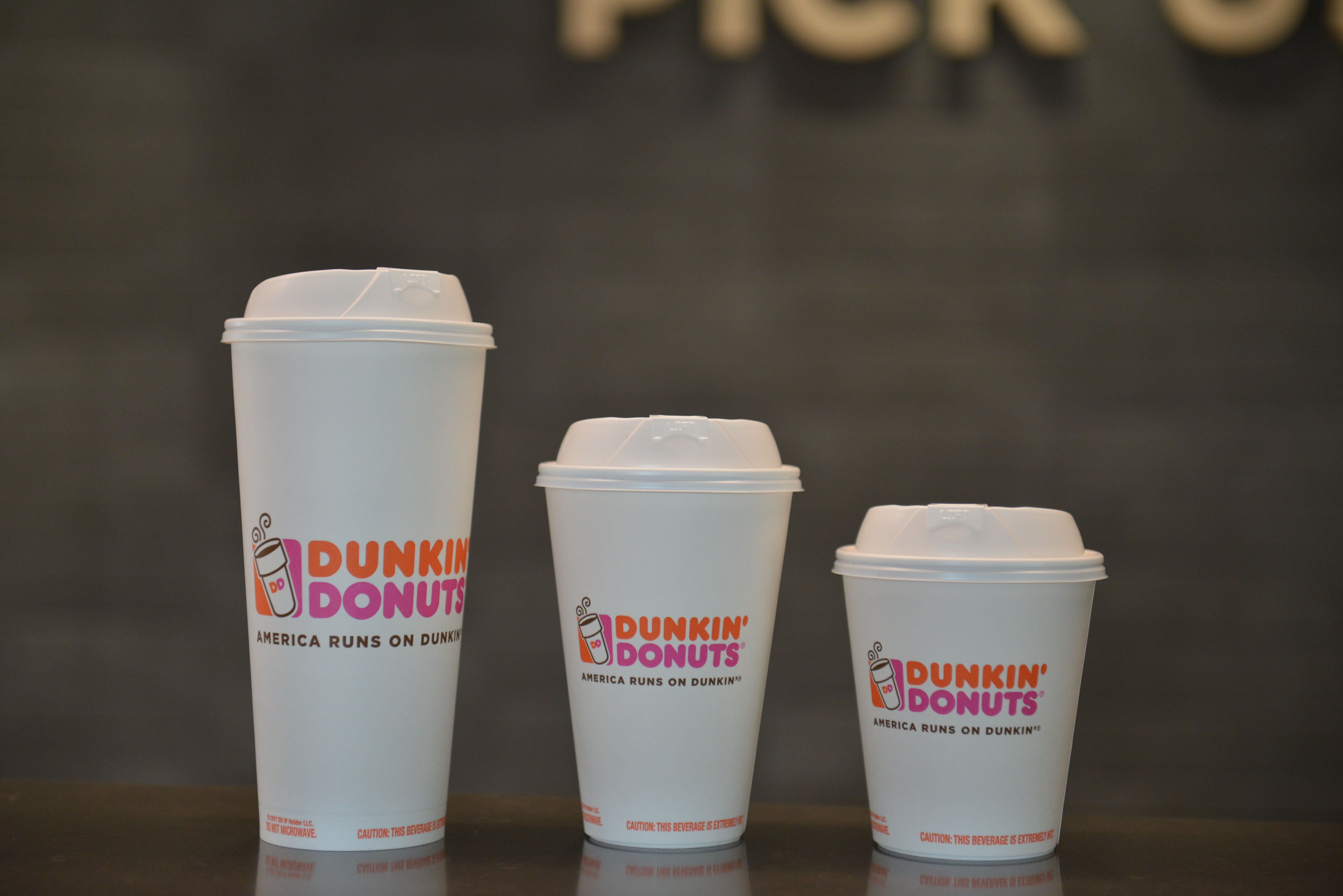 Dunkin' Donuts Cups Changing From Styrofoam to Paper by 2020
