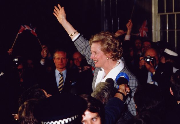 Margaret Thatcher in Barnet, home to her Finchley