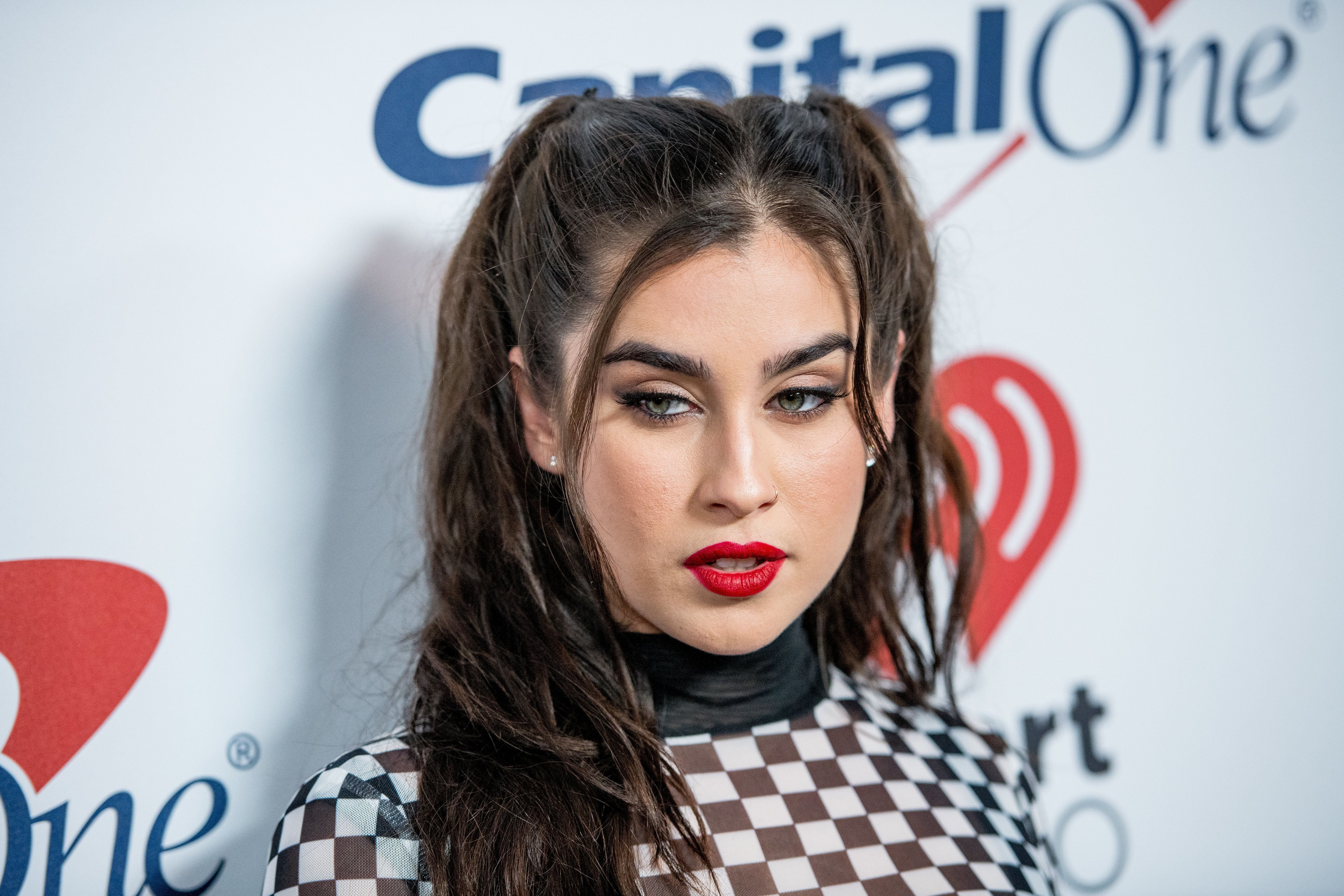 NEW YORK, NY - DECEMBER 08:  Lauren Jauregui attends Z100's iHeartRadio Jingle Ball 2017 at Madison Square Garden on December 8, 2017 in New York City.  (Photo by Roy Rochlin/FilmMagic)