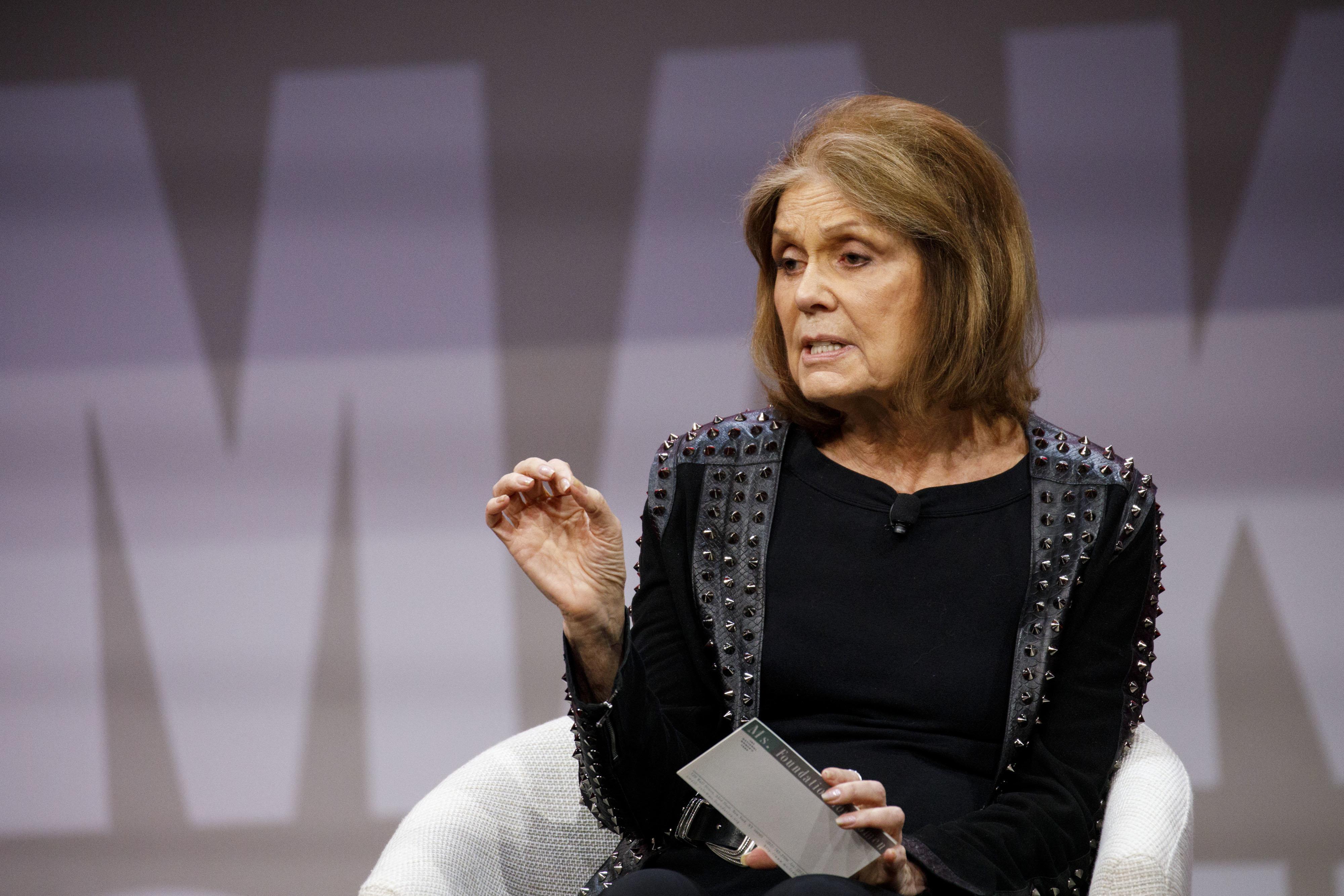 Gloria Steinem: 'Pela primeira vez na história estão acreditando nas