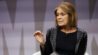 Activist Gloria Steinem speaks during the 2018 Makers Conference in Hollywood, California, U.S., on Tuesday, Feb. 6, 2018. The event gathers industry leading females for roundtable discussions to help inspire the women of tomorrow. Photographer: Patrick T. Fallon/Bloomberg via Getty Images