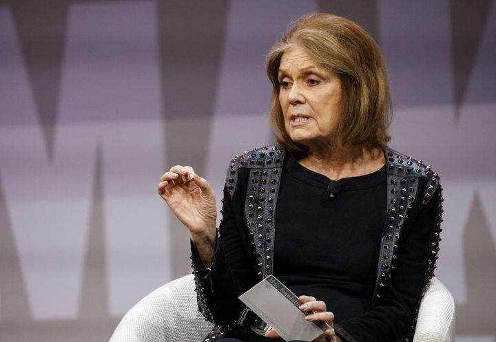 Activist Gloria Steinem during the 2018 Makers Conference in Hollywood on Feb. 6.