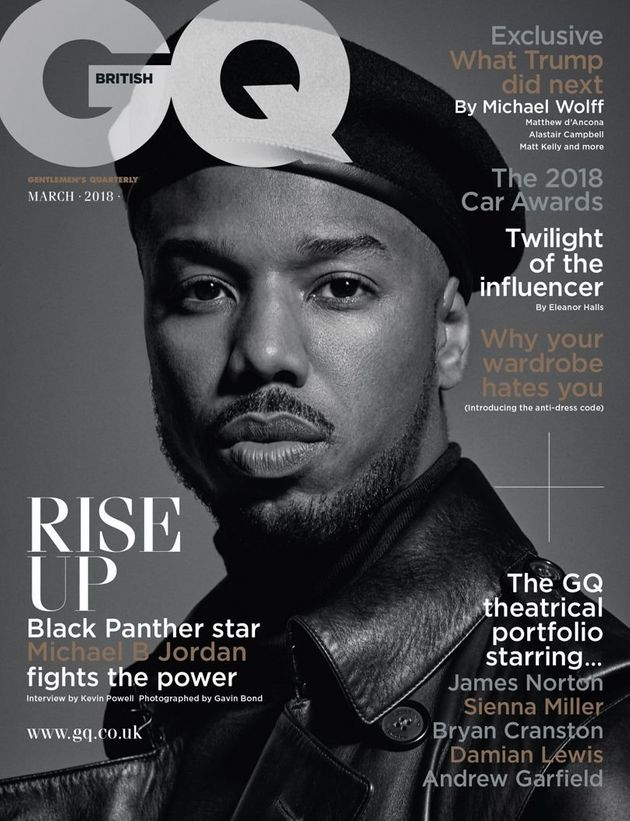 dfe44f488c9 Michael B. Jordan Honors Black Panther Party On GQ Cover | HuffPost UK