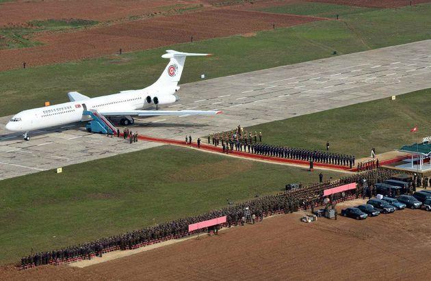 김여정 등 북한 고위급 대표단이 타고올 '전용기'는 무슨