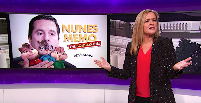 Samantha Bee Imagines The Memo Sequels That Devin Nunes Is Working On