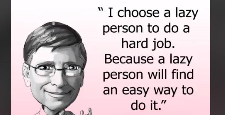 천만 번 이상 공유된 빌 게이츠 명언