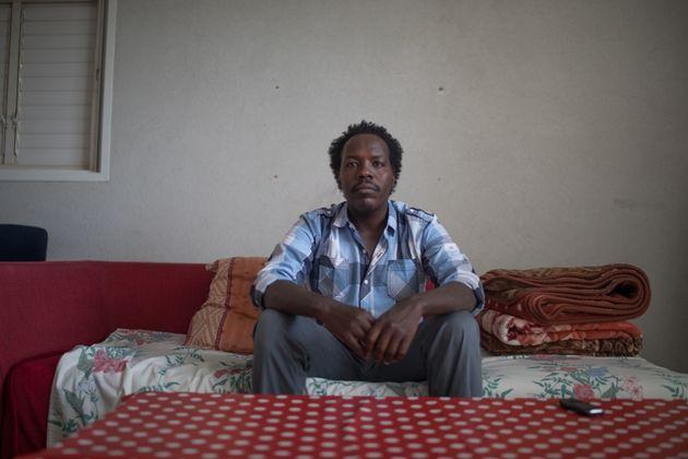 Anwar, an asylum seeker from Darfur, fled Sudan in 2009.