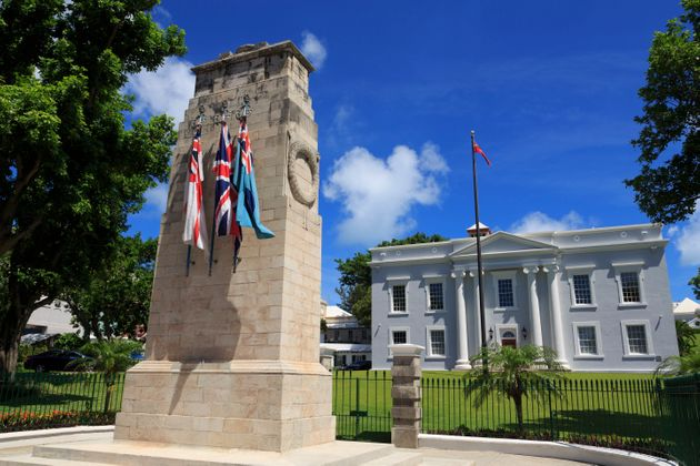 Bermuda has become the first country in the world to repeal same-sex marriage (file picture showing a...