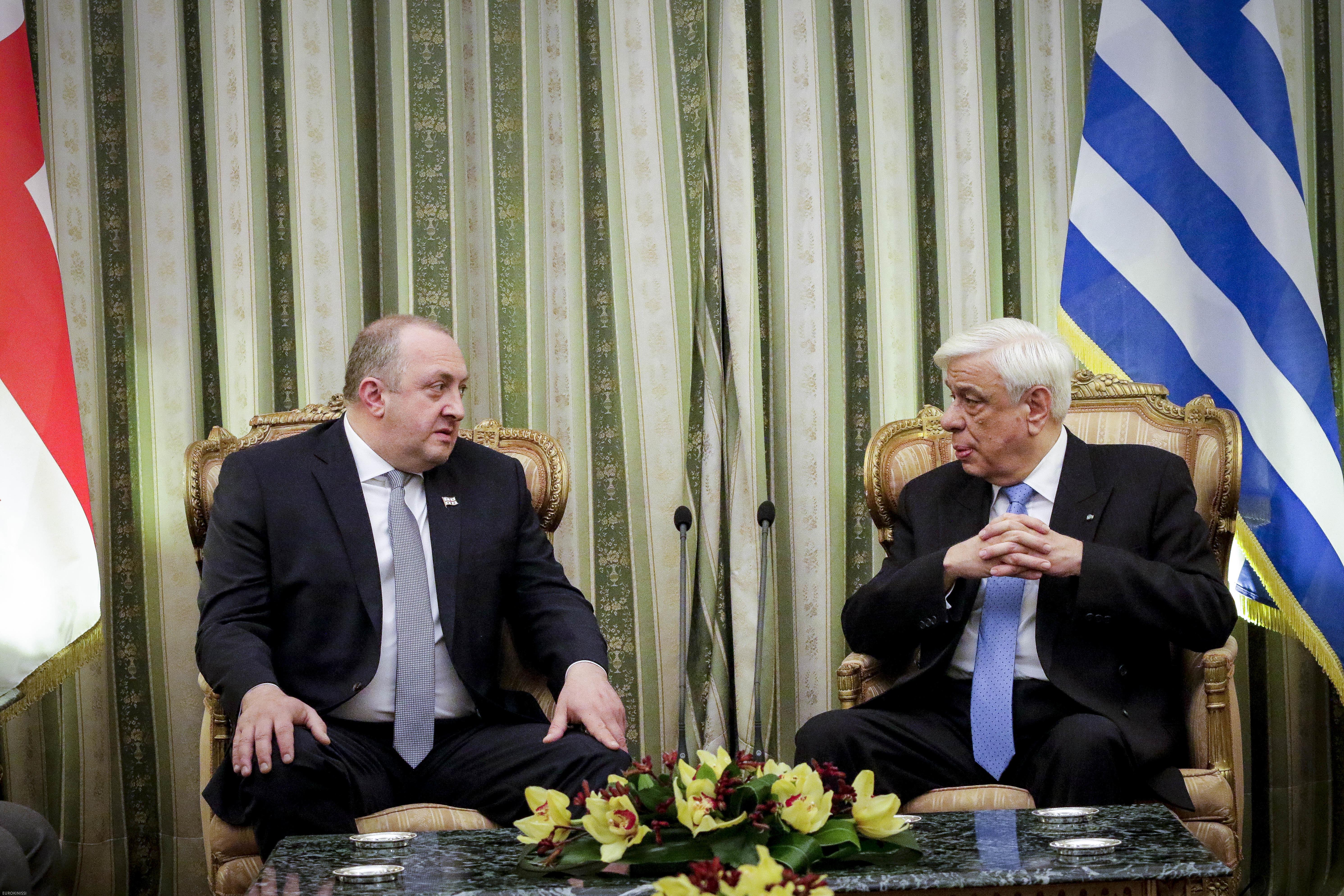 Αυστηρά μηνύματα Παυλόπουλου προς Τουρκία, Σκόπια και