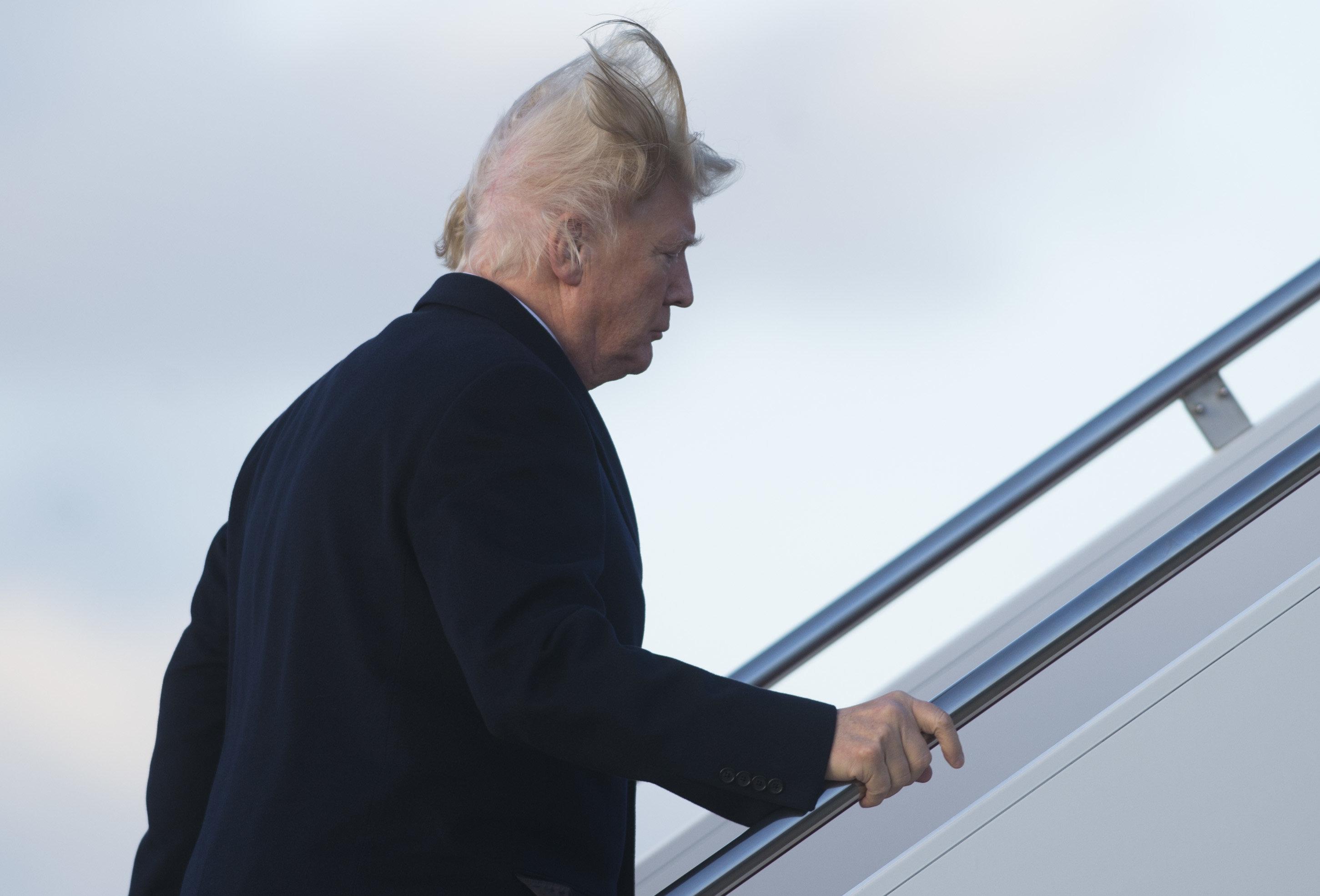 Windstoß enthüllt: So steht es wirklich um Trumps Haarpracht