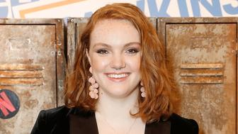 LONDON, ENGLAND - OCTOBER 27:  Shannon Purser a.k.a Barb hosts the Stranger Binge event at TopShop Topman, to mark the launch of Stranger Things 2 on Netflix on October 27, 2017 in London, England.  (Photo by David M. Benett/Dave Benett/Getty Images for TOPSHOP)