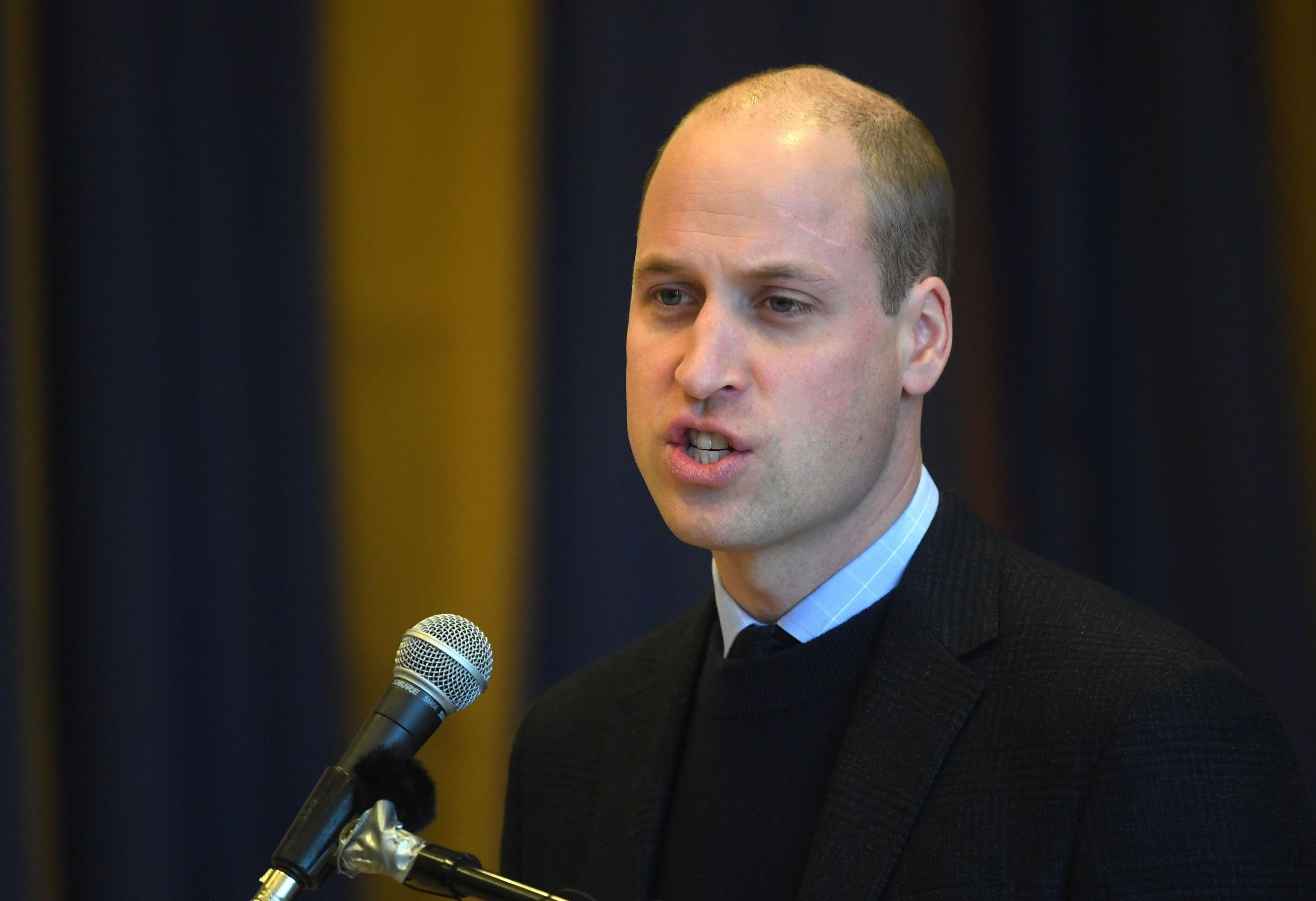 Prince William gave school students the best surprise