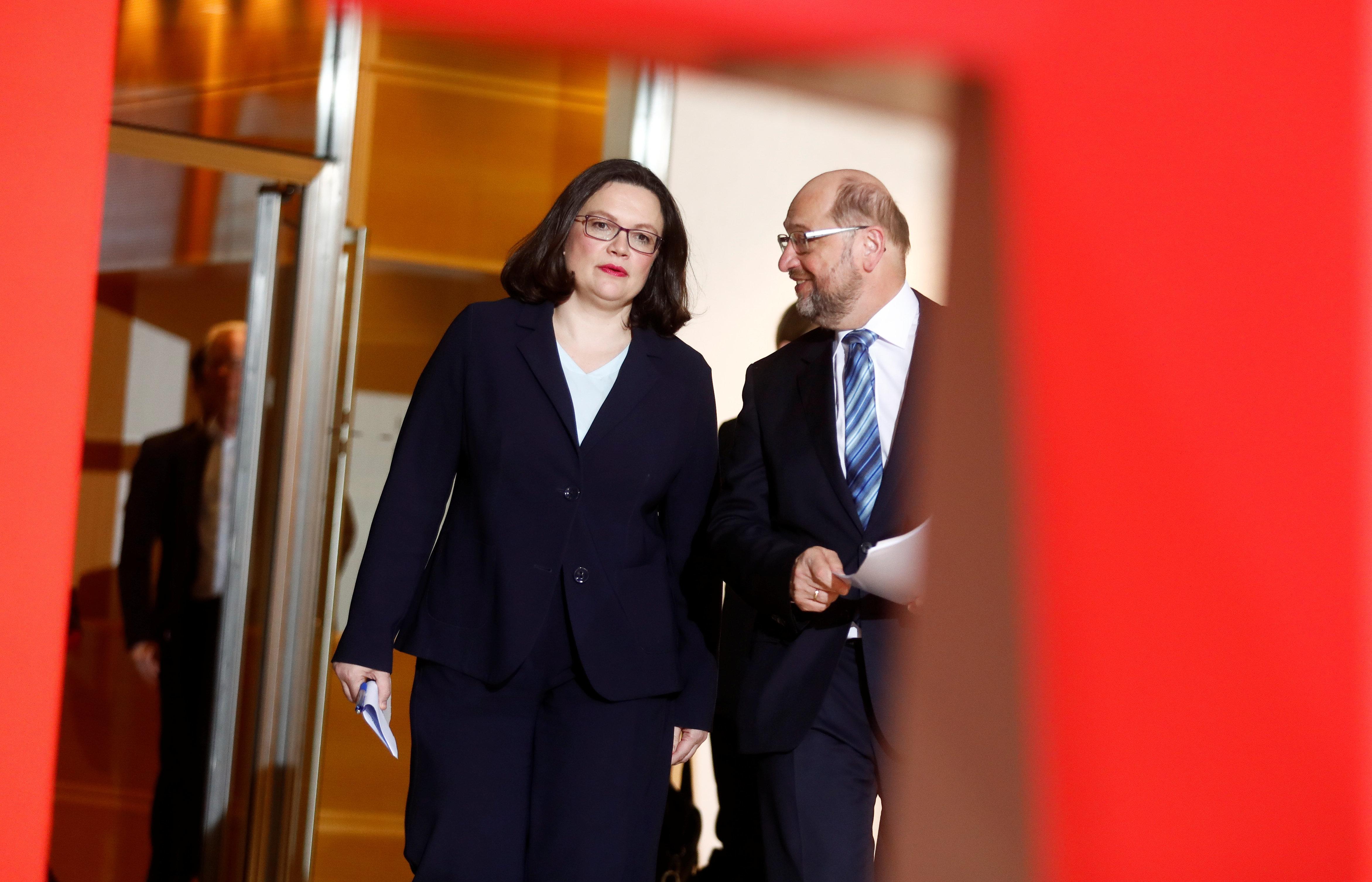 Nahles neue SPD-Chefin: Darum müssen Frauen in Krisenzeiten ran