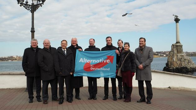 Die AfD-Delegation