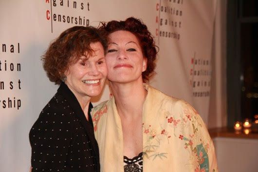 """Singer, pianist and performer Amanda Palmer wrote the song """"Judy Blume"""" to commemorate the author's powerful influence on you"""